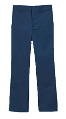 St Ann Men's Flat Front Pants