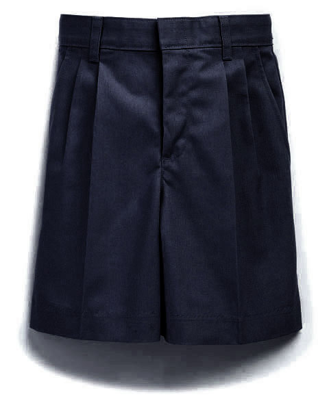 SCS Boys Pleated Shorts