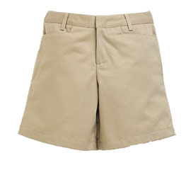 SFCA Girls Flat Front Short