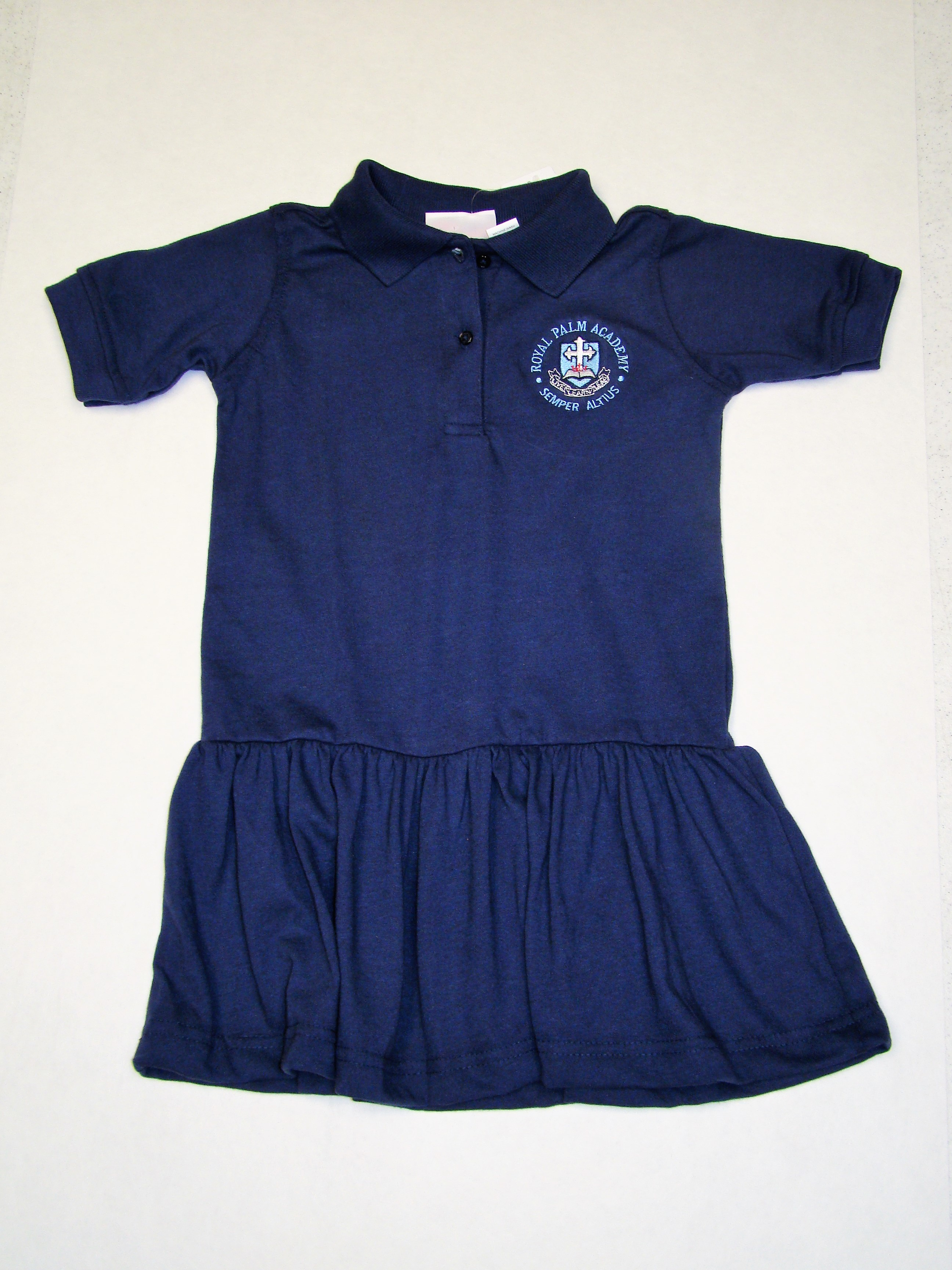 RPA Girls Polo Dress with Logo PreK3-3rd