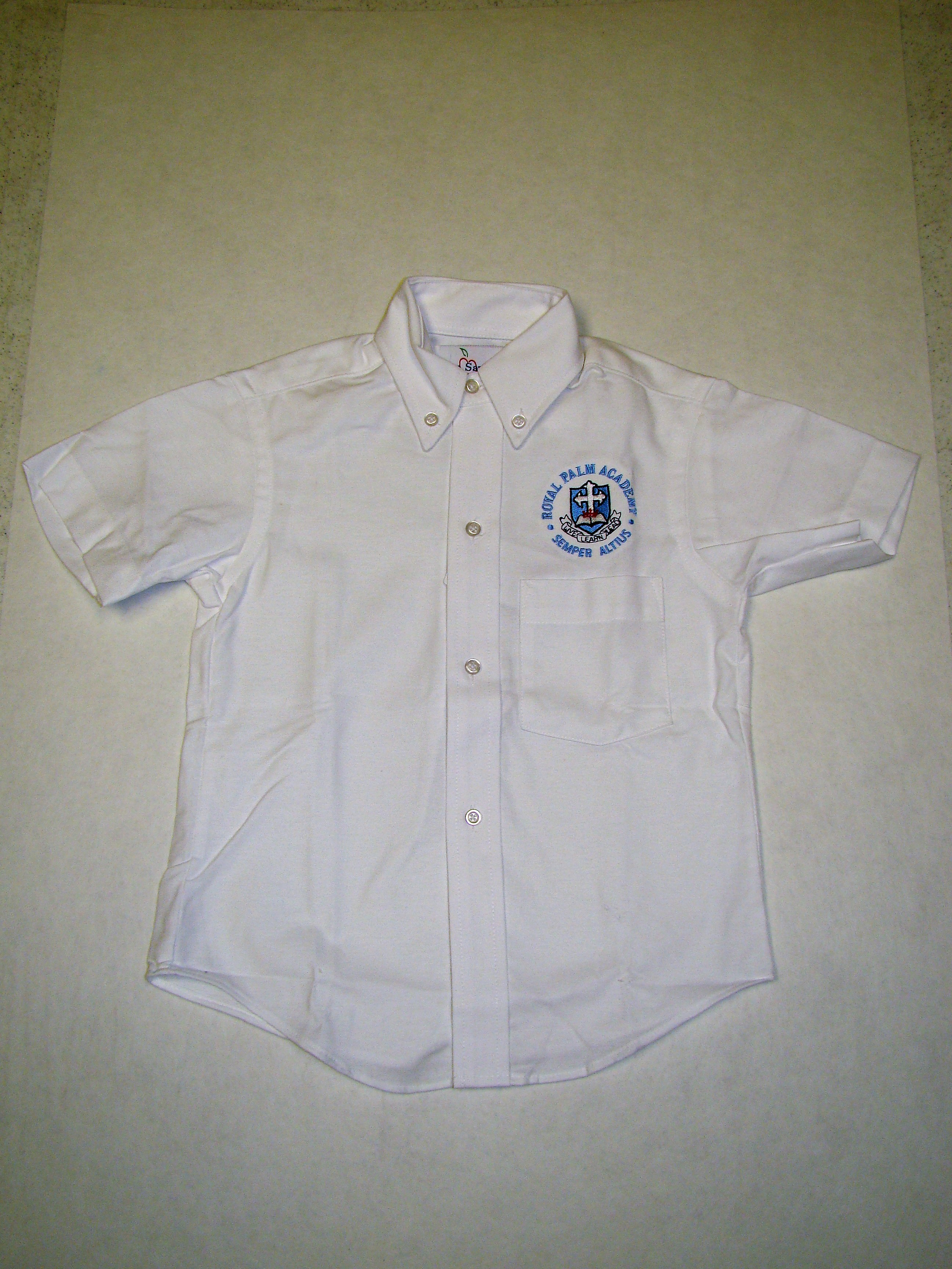 RPA Boys Oxford with logo
