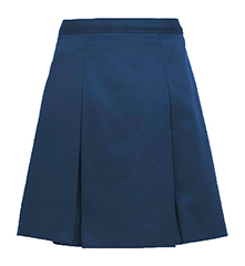 Gospel Baptist Navy Skirt Half Sizes 7th-12th