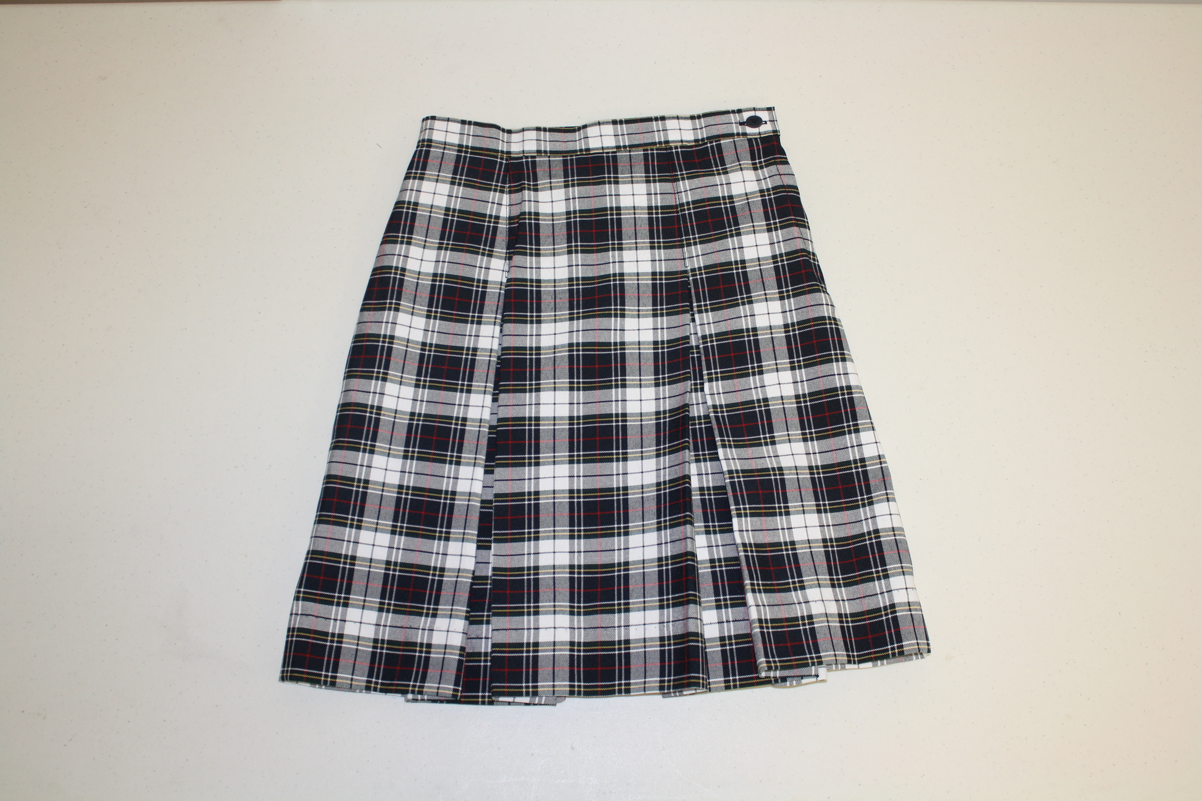 Gospel Baptist Girls Half sizes Plaid Skirt 3rd-6th