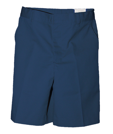 St Charles Boys Navy Flat Front Shorts