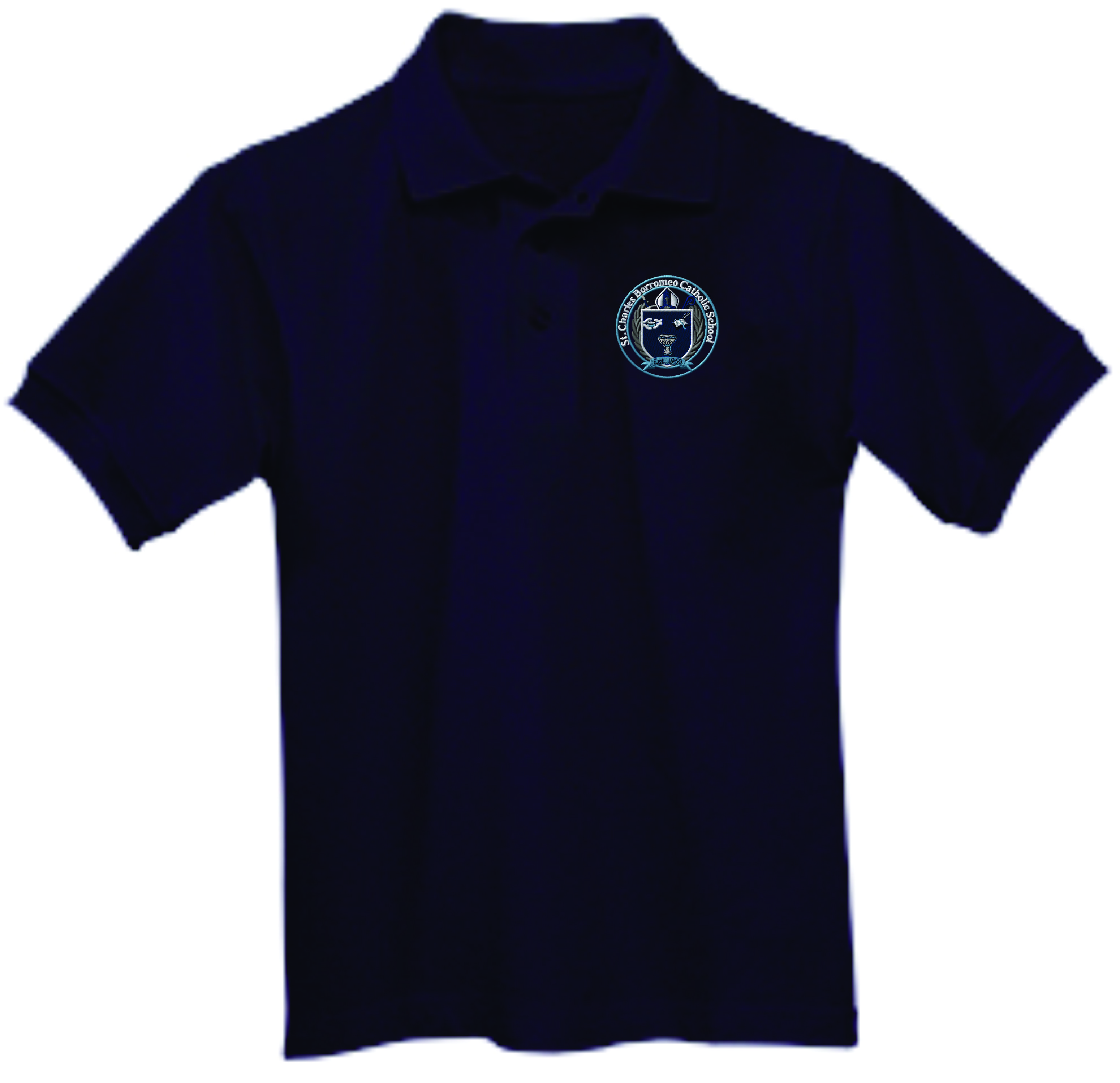 St Charles Navy Polo (GIRLS ONLY)