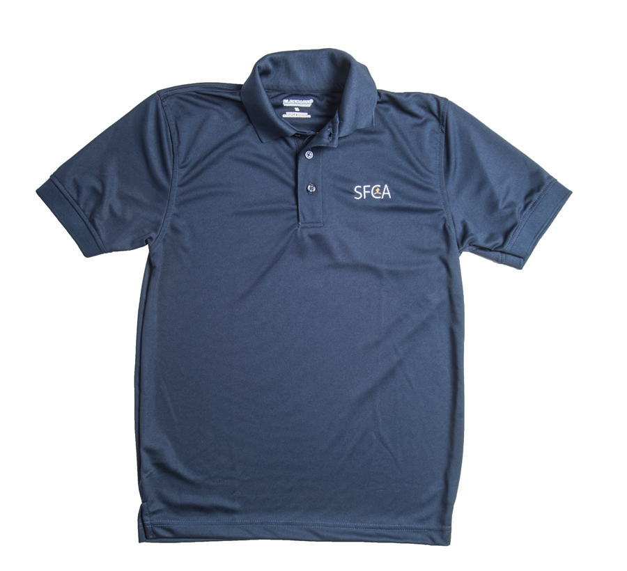 SFCA Dri Fit Youth Polo K-5