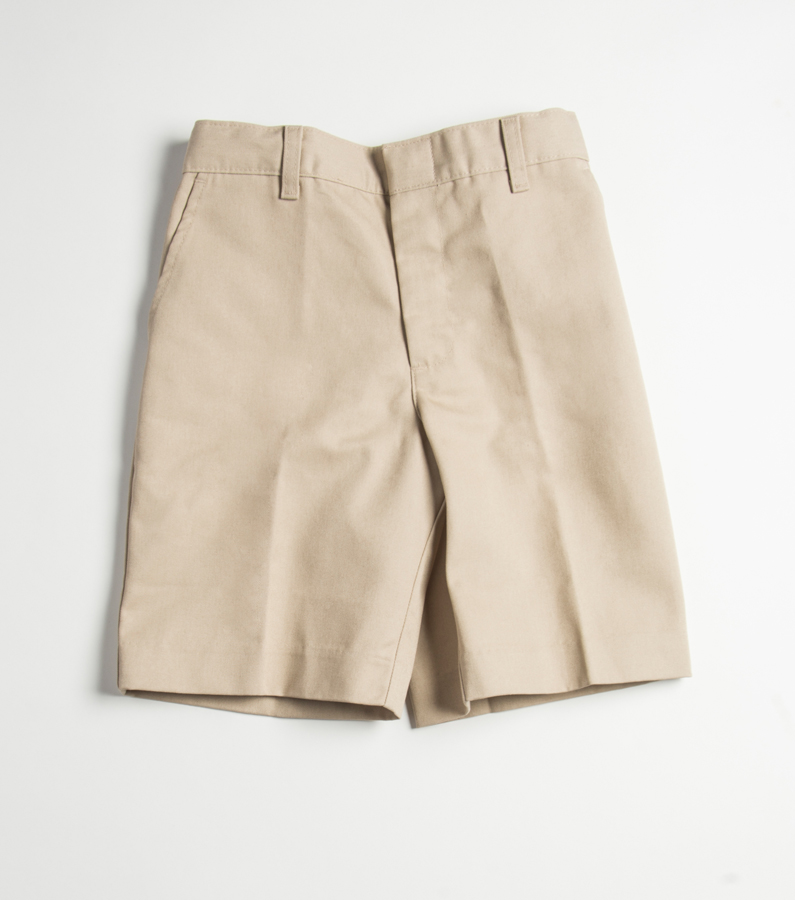 SCS Boys Flat Front Shorts