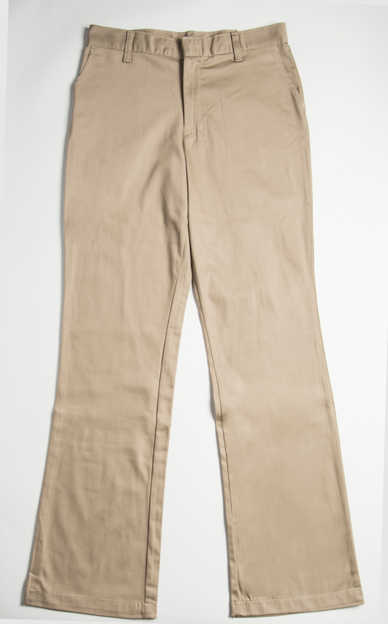 SFCA Jr Flat Front Pants w/Stretch